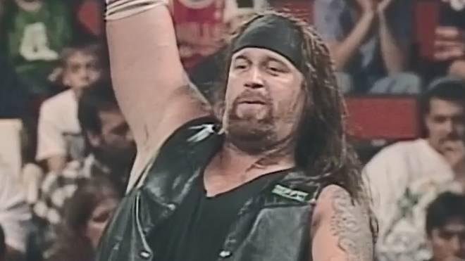 Brian Lee (hier 1998 als Chainz) spielte bei WWE den falschen Undertaker