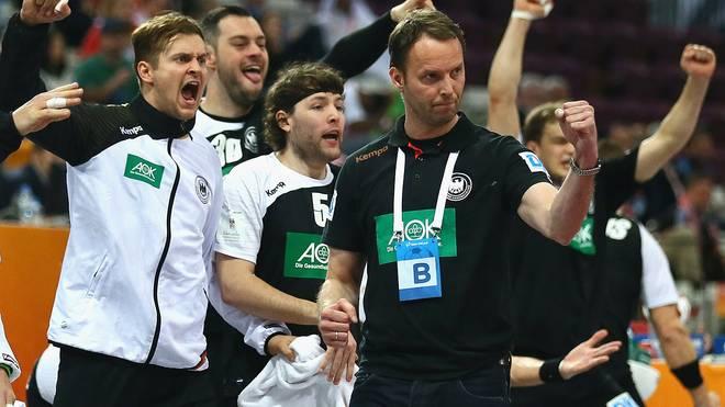 Deutschland Polen Handball WM