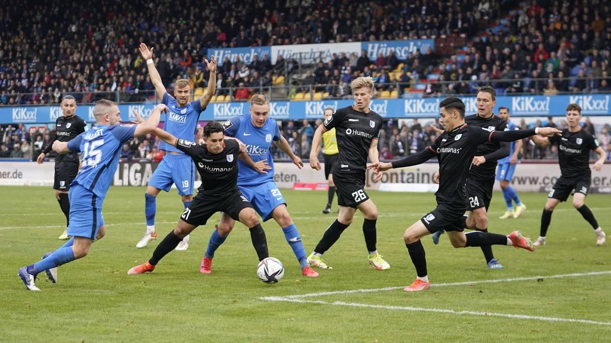 Magdeburg baut Tabellenführung aus - Dortmund II verliert