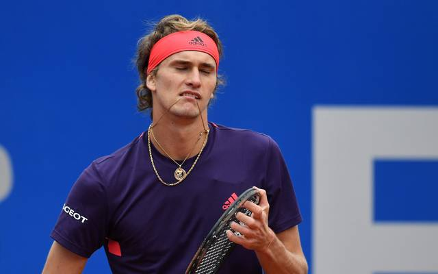 Alexander Zverev scheiterte im Viertelfinale des ATP-Turniers gegen den Chilenen Christian Garin