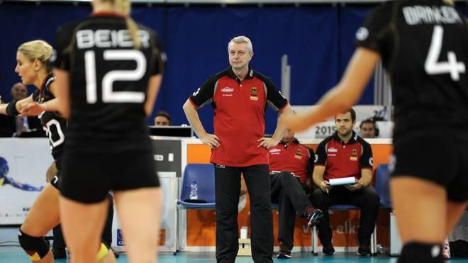 Luciano Pedulla  - deutsche Volleyball-Nationalmannschaft der Frauen