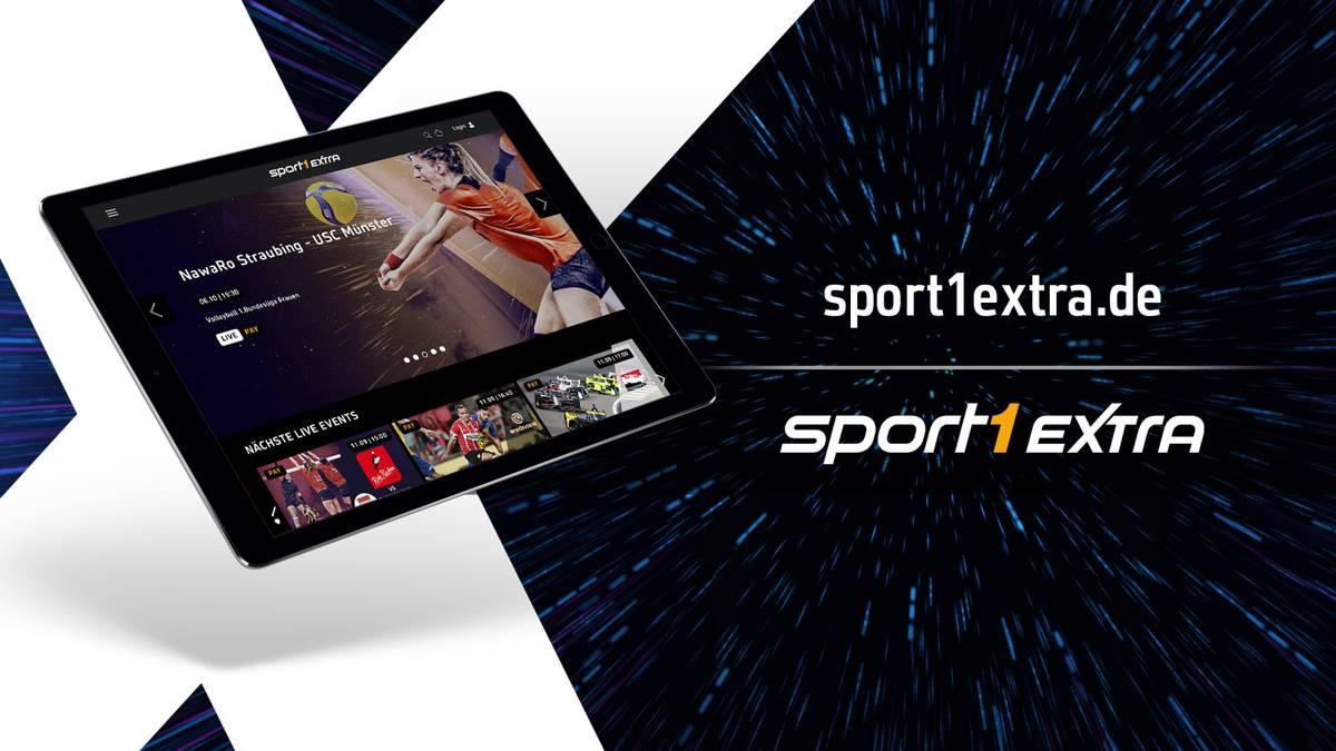 Neue Multisport-Streaming-Plattform von SPORT1 - SPORT1 Extra