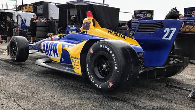 """""""Vollkommener Rennwagen"""": Alex Rossi ist vom neuen IndyCar-Boliden begeistert"""