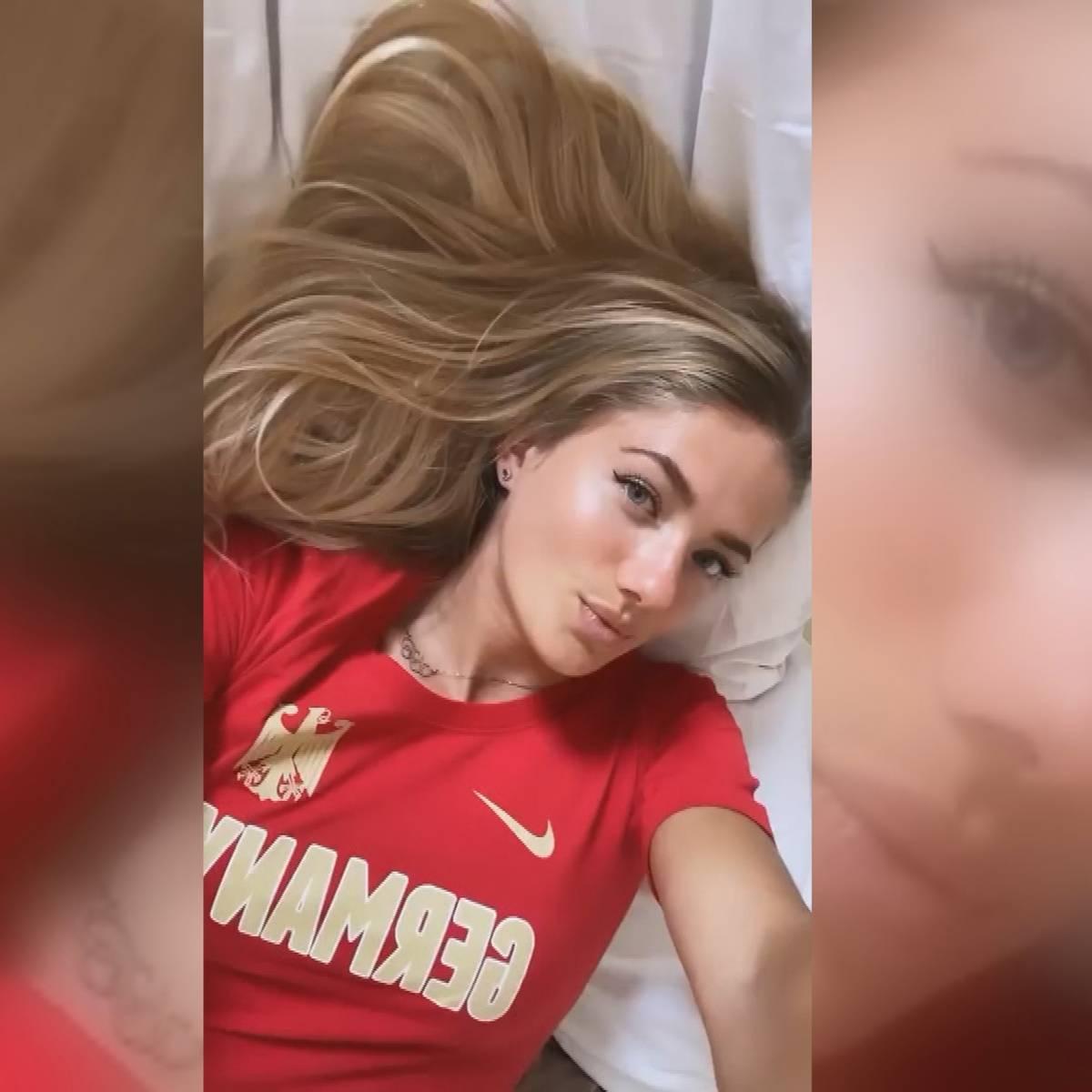 Sprinterin Schmidt: Darum geht sie bei Instagram durch die Decke