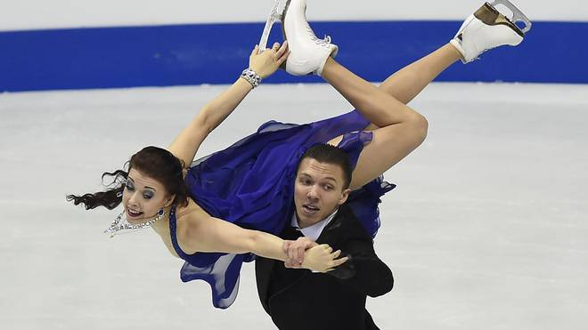 Jekaterina Bobrowa und Dimitri Solowjew