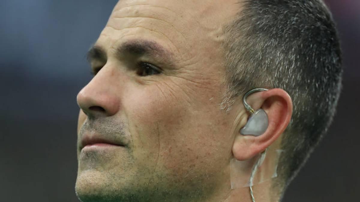 Schiedsrichter Jaco Peyper darf kein Halbfinal-Spiel der Rugby-WM pfeifen