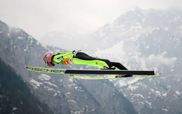 Stefan Kraft gewann 2017 bei der Weltmeisterschaft in Lahti zweimal Gold