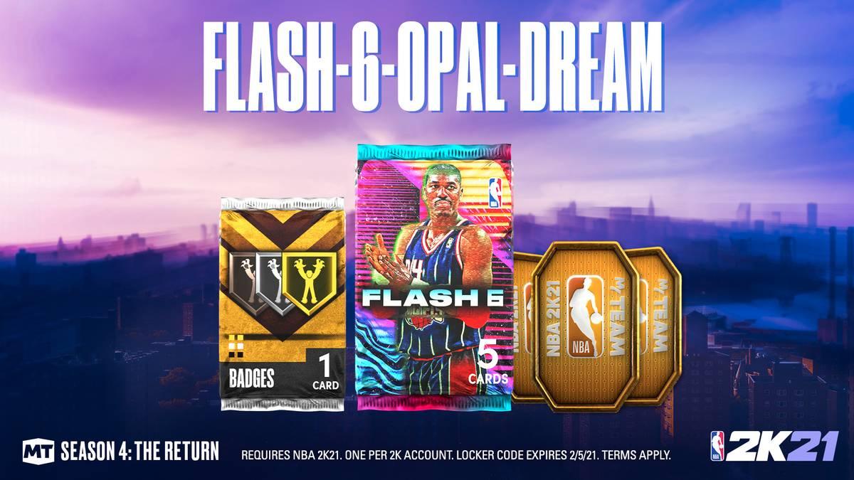 Ist der Galaxy Opal Kareem Olajuwon wirklich die beste Karte des Flash-6-Packs?
