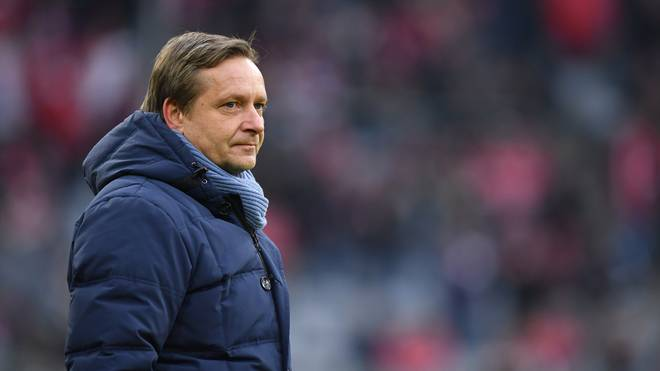 Horst Heldt ist seit März 2017 Manager beim Bundesligisten Hannover 96