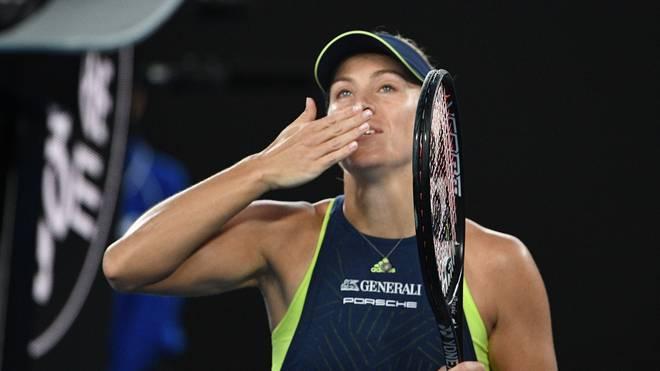 Angelique Kerber nimmt bei den Australian Open 2017 den Sieg ins Visier
