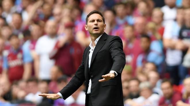 Premier League: Frank Lampard darf mit FC Cheslea über Trainerjob verhandeln, Frank Lampard trainiert derzeit den Zweitligisten Derby County