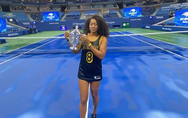 Naomi Osaka ehrte den verstorbenen Kobe Bryant nach ihrem Sieg bei den US Open