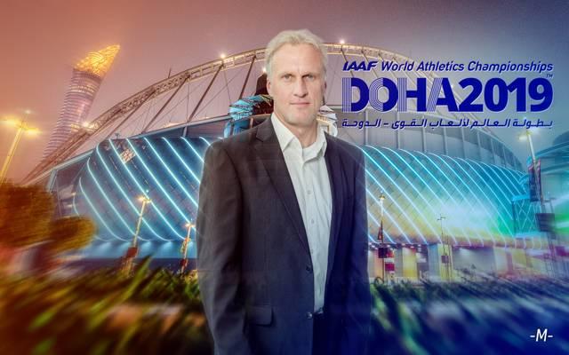 SPORT1-Redakteur Johannes Fischer ist bei der Leichtathletik-WM in Doha vor Ort