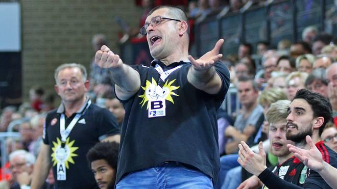 Goran Suton war seit Saisonbeginn Trainer des TuS N-Lübbecke
