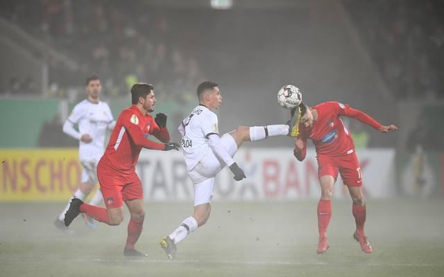 Bayer Leverkusen zog beim 1.FC Heidenheim den Kürzeren