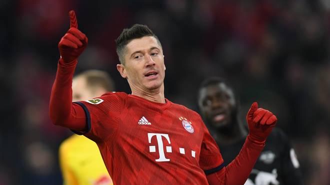 Robert Lewandowski besitzt bei den Bayern noch einen Vertrag bis 2021