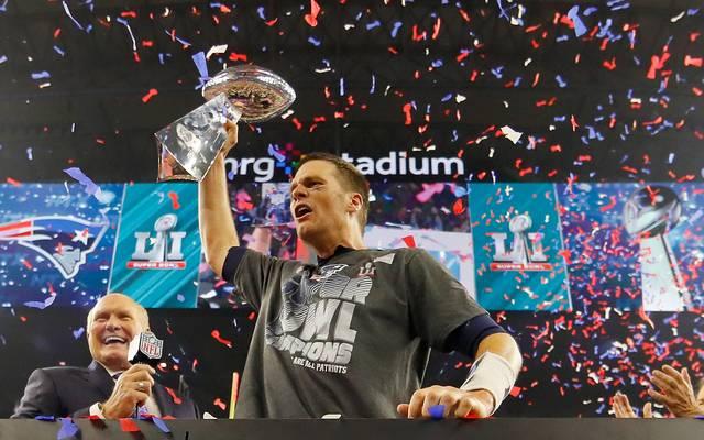 PLATZ 4 - TOM BRADY (New England Patriots, 67.418 Passing Yards)