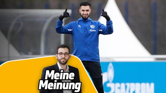 SPORT1-Reporter Patrick Berger kommentiert die Begnadigung von Nabil Bentaleb auf Schalke