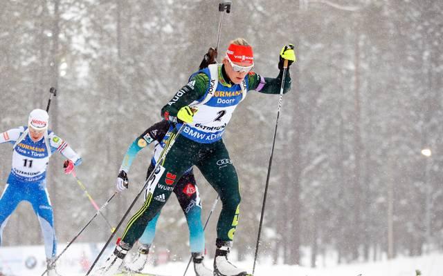 Denise Herrmann im Biathlon-Weltcup