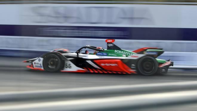 Daniel Abt saß beim virtuellen Formel-E-Rennen nicht selbst am Steuer