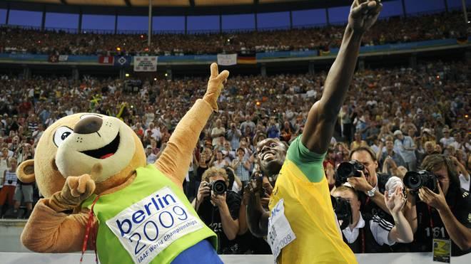 Usain Bolt wurde mit seinem Jubel zur Ikone