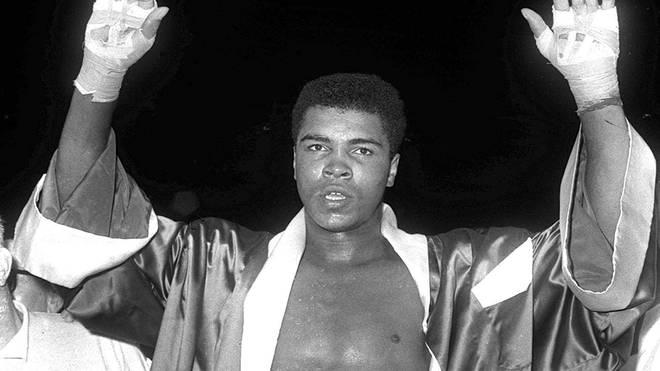 Muhammad Ali legte eine legendäre Karriere im Boxen hin