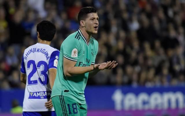 Luka Jovic steht in der Kritik, ihm droht eine Strafanzeige