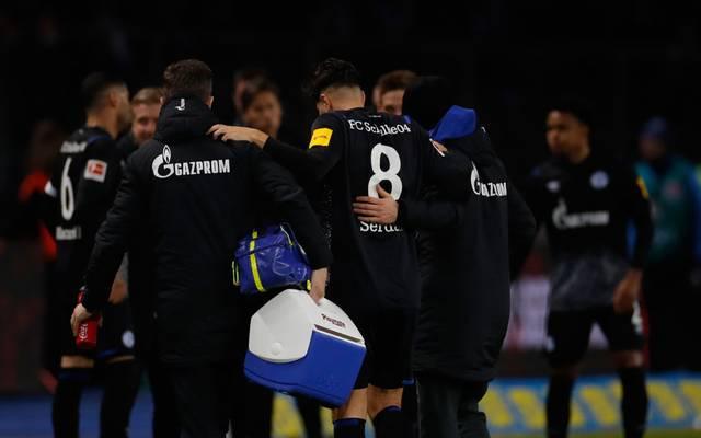 Suat Serdar hat sich gegen Hertha BSC verletzt