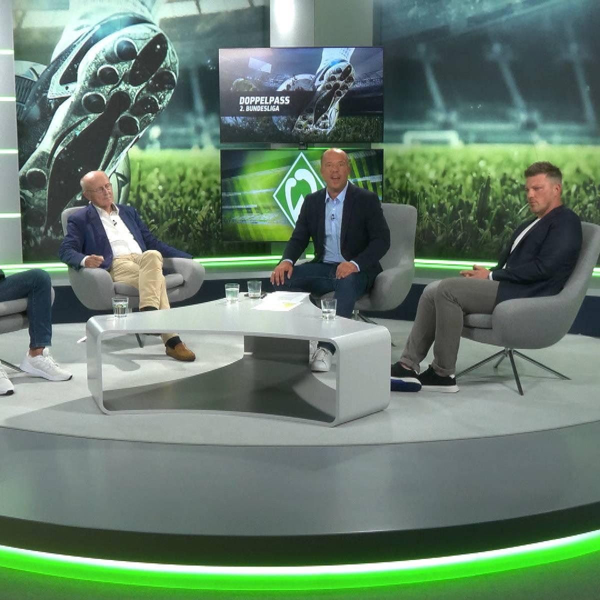 Sendung verpasst? Der Doppelpass 2. Bundesliga mit Kwasniok und Lemke
