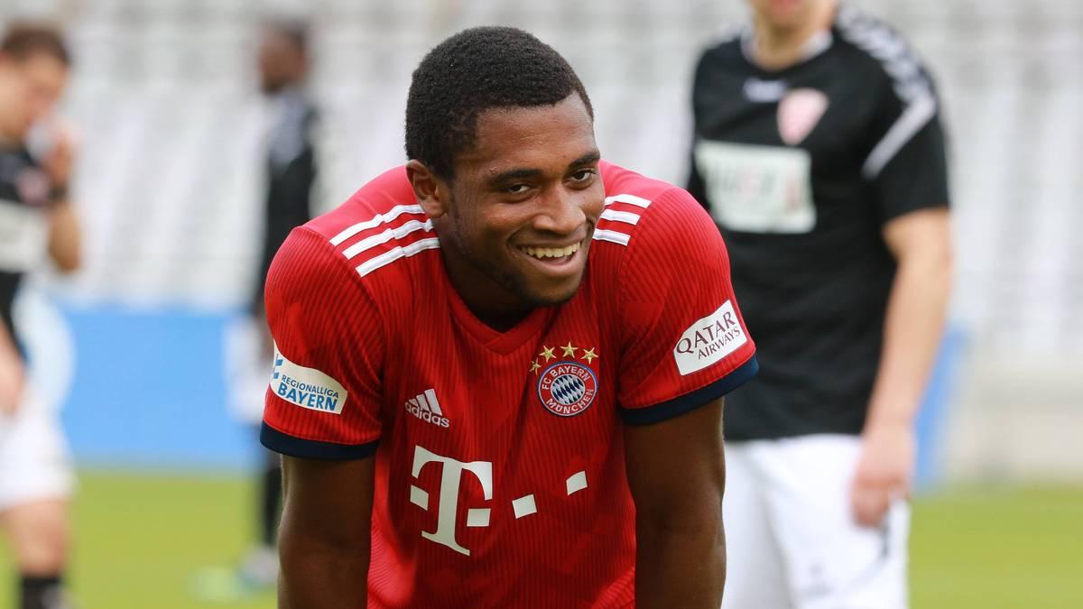 Franck Evina machte für den FC Bayern zwei Bundesligaspiele