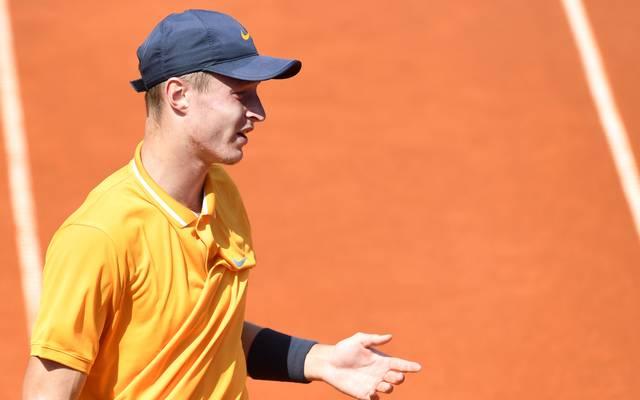 Tennis, ATP in München: Rudi Molleker verpasst Viertelfinale, Rudolf Molleker unterlag im Achtelfinale von München Roberto Bautista Agut aus Spanien