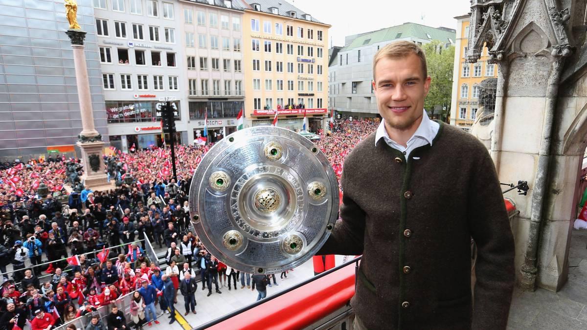Holger Badstuber wurde mit dem FC Bayern sechs Mal Deutscher Meister