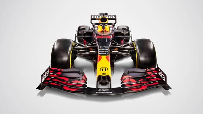 Auch von vorn ansprechend: Der neue F1-Bolide von Red Bull