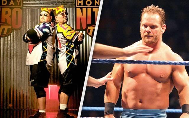 Der Tod von Johnny Grunge (l., mit Rocco Rock) trug zur Mord-Tragödie um Chris Benoit bei