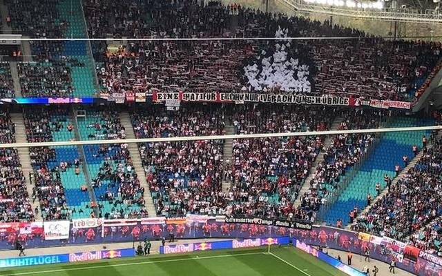 Stuttgart-Fans machen aus ihrer Abneigung gegen RB Leipzig keinen Hehl
