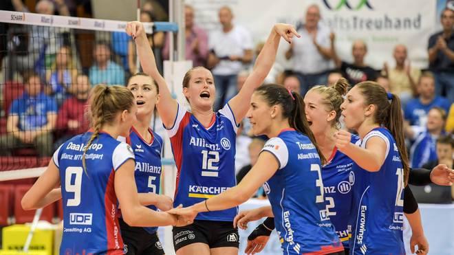 Stuttgart ist Meister in der Volleyball-Bundesliga