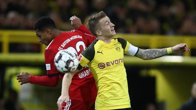 Bayern München und Borussia Dortmund sind am Samstag im Bundesliga-Einsatz