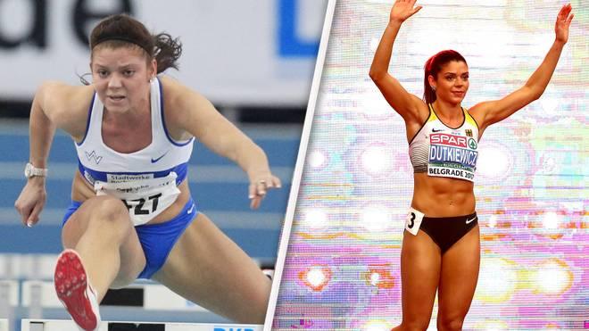 Pamela Dutkiewicz geht bei der Leichtathletik-WM im Hürdenlauf an den Start
