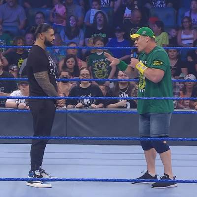 Das giftige Rededuell der WWE-Megastars vor dem SummerSlam