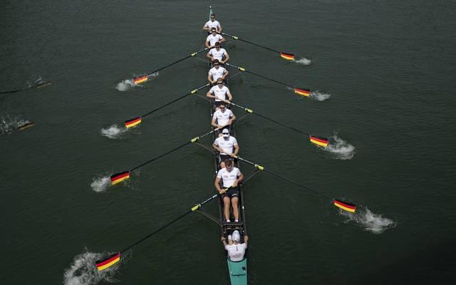 Der Achter ist das Paradeboot der deutschen Ruderer