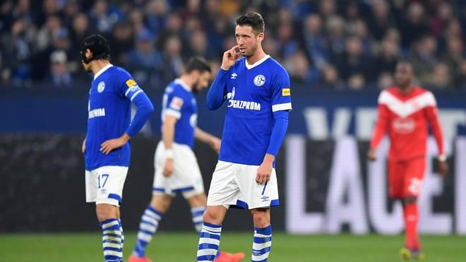 Revierderby: Schalke 04 ohne Quintett beim BVB, Schalkes Mark Uth fällt für das Revierderby am Samstag aus