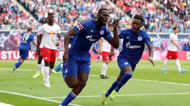 Salif Sané erzielte die Führung der Schalker