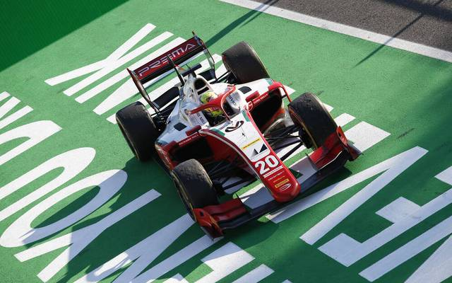 Mick Schumacher feierte am Samstag seinen ersten Sieg