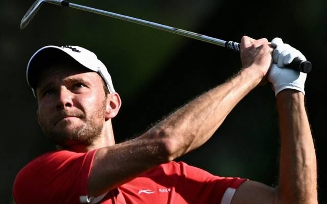 Der deutsche Golf-Profi Maximilian Kieffer