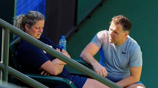 Kim Clijsters zog sich eine Bauchverletzung zu