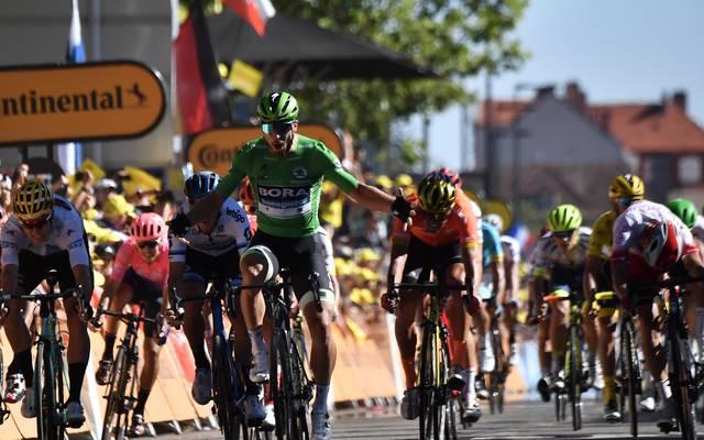 Peter Sagan gewinnt die fünfte Etappe der Tour de France nach Colmar