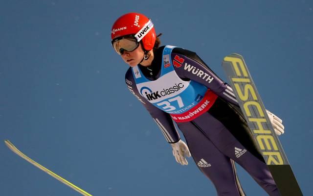 Women Ski Jumping World Cup Nach ihren vier Goldmedaillen bei den letzten beiden Weltmeisterschaften will Carina Voigt auch dieses Jahr angreifen