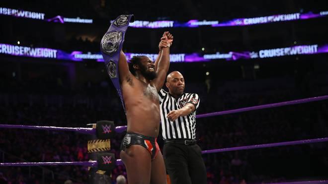 Rich Swann ist amtierender Cruiserweight Champion bei WWE