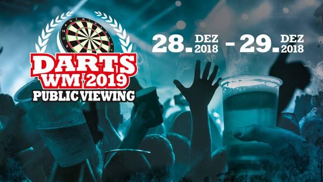 SPORT1 präsentiert das große Public Viewing zur Darts-WM