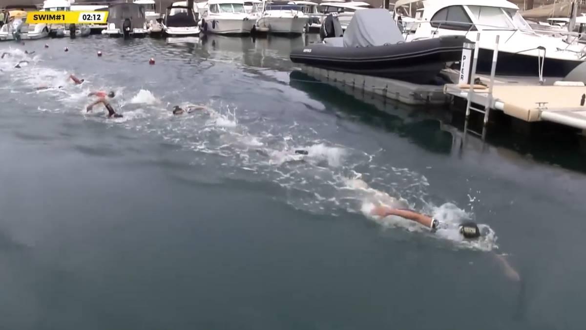 JETZT im Stream: Super League Triathlon auf Jersey